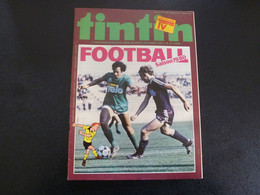 JOURNAL TINTIN N°37 1979 Couverture Hergé + Platini - Tintin