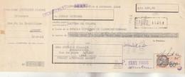 Lettre Change 6/10/1936 MUNTANER Michel Primeurs AMBERT Puy De Dôme - Timbre Fiscal - Bills Of Exchange