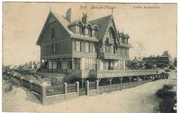 CPA - 62 - BERCK PLAGE - Châlet Rothschild - - Berck
