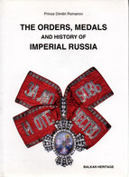 ORDERS MEDALS OF IMPERIAL RUSSIA PAR D. ROMANOFF ORDRE DECORATION MEDAILLE RUSSIE IMPERIALE TSAR - Unclassified