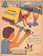 59 4470 CROIX NORD - Chicoree ALPHONSE LEROUX  Publicite COLORIAGE - Advertising