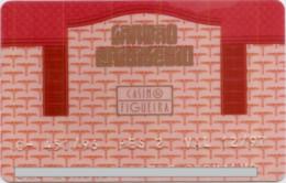 PORTUGAL CASINO FIGUEIRA 1997 - Tarjetas De Casino