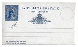 San Marino Old Postal Stationery Postcard Unused B210410 - Postal Stationery