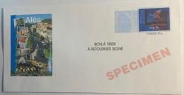 PAP (prêt à Poster) - MAGRITTE Repiquage ALES -  Spécimen  - - Listos A Ser Enviados: Otros (1995-...)