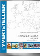 Catalogue Yvert 2016  - Volume 4 - Pologne à Russie - Francia