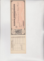 ASSEGNO DEL BANCO  AMBROSIANO  -  SEDE  DI  GENOVA . - Bills Of Exchange