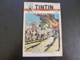 JOURNAL TINTIN N°5 1948 Couverture Le Raillic - Tintin
