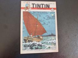 JOURNAL TINTIN N°6 1948 Couverture Jacobs - Tintin