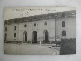 MILITARIA - VERSAILLES - Emplacement Du 1er Bataillon E.H.R. - Dragons Portés - Caserme