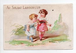 - CHROMO AU SOLDAT LABOUREUR - MAISON GOUNIN & LAFARGE - 52 Et 54, Avenue D'Orléans, PARIS - Lith. Hamelin - - Other