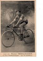 Cpa - Noa As   Rene Tessandier  Sur Velo France-sport - Pneu W Russel - Wielrennen
