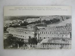MILITARIA - VERSAILLES - Vue à Vol D'oiseau De La Caserne Du 1er Génie Et De La Place D'Armes - Caserme