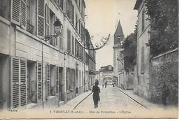 VIROFLAY - 78 - Yvelines - Rue De Versailles - L'église - Viroflay