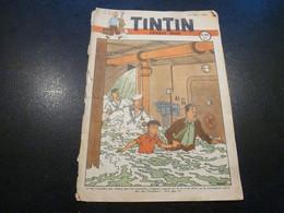 JOURNAL TINTIN N°15 1948 Couverture Hergé - Tintin
