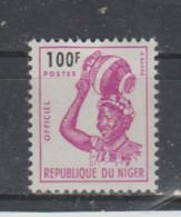 Niger ~ 1962  Service  N° 11 Neuf X X - Niger (1960-...)