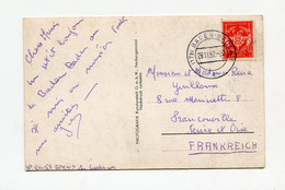 !!! ZOF, CPA EN FRANCHISE DE BADEN BADEN DE 1952 POUR LA FRANCE - French Zone