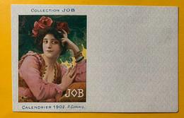 13373 - Collection JOB Calendrier 1902  P. Gervais Non Circulée - Otros Ilustradores