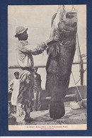 CPA Trinidad Pêche Poisson écrite - Trinidad