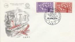 FDC 1962 EUROPA - 1960-1969