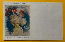 13376 - Collection JOB Calendrier 1896  J.Chéret Non Circulée - Chéret