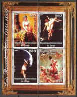 {F0030} LABEL Art Paintings L.R. Falero Sheet MNH Cinderella ! - Fantasy Labels