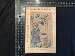 Chromo Chocolat Van Houten - Van Houten