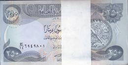 IRAQ 250 DINARS 2003 P-91 LOT X100 UNC NOTES BUNDLE - Iraq