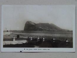 Gibraltar 5 The Rock From Spain 1930 - Gibraltar