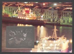 Guyana, 1993, Dog, Bear, Rabbit, Cougar, Butterfly, Dinosaur, Genova, Scouting, Silver, MNH Imperf, Michel Block 310 - Guyana (1966-...)
