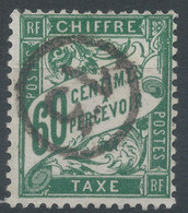Lot N°60694    Taxe, N°38, Oblit Jour De L'an - 1859-1955 Usati