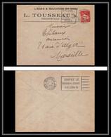 115618 Lettre Entete Bouchons Tousseau Bouches Du Rhone Algérie Constantine Marseille Flier Secap Gouter Le Cigare 1933 - Cartas