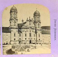 Suisse Schwytz - EINSIEDELN - Photo Stéréoscopique Vers 1870 - Voir Scans - Stereoscopio