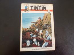 JOURNAL TINTIN N°38 1948 Couverture Le Raillic - Tintin