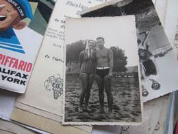 Novi Sad Couples Swimsuit 1938 Old Photo Postcards - Serbia