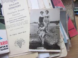 Girls Swimsuit Old Photo Postcards - Fashion