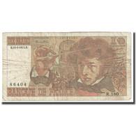 France, 10 Francs, Berlioz, 1975, 1975-05-15, TB, Fayette:63.10, KM:150b - 10 F 1972-1978 ''Berlioz''