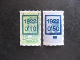 Cote Des Somalis: TB Paire N° 101 Et  N° 102, Neufs XX. - Ongebruikt