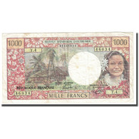Billet, Tahiti, 1000 Francs, 1985, KM:27d, TTB - Papeete (French Polynesia 1914-1985)