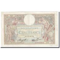 France, 100 Francs, Luc Olivier Merson, 1937, 1937-12-02, TTB, Fayette:25.4 - 100 F 1908-1939 ''Luc Olivier Merson''