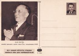 A3746 - Guo Moruo - Gou Mo-Jo, Chinese Politician,poet, Writer, China-Ceskoslovensko Unused Postal Stationery - Cartoline Postali