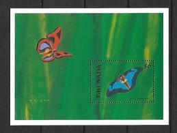Grenada 2001 Butterflies #3 MS MNH - Grenada (1974-...)