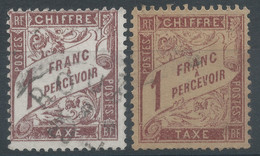 Lot N°60706    Taxe, N°40 Et N°39 ???????, Oblit - 1859-1955 Oblitérés
