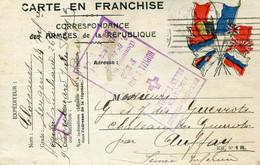 Paris(75): Guerre 14, Carte En Franchise Croix Rouge Francaise, Hopital Auxiliaire N252, 1915 - Documenti Storici