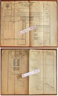Lettre De Voiture 1906 Frachtbrief Verreries De Portieux Charmes Vosges Chemins De Fer Elsenbahntransport Fracht Stempel - Other