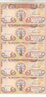 IRAQ 1000 DINAR 2018 P- NEW IRAQI MONUMENTS UNESCO COMMEMORATIVE LOTX5 UNC NOTES - Iraq
