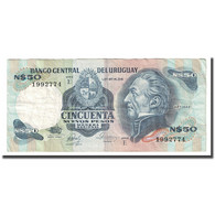 Billet, Uruguay, 50 Nuevos Pesos, Undated (1978-87), KM:61d, TTB - Uruguay