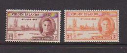 BRITISH  VIRGIN  ISLANDS    1946    Victory    Set  Of  2    MNH - British Virgin Islands
