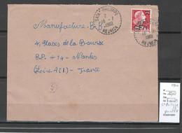 Reunion - Lettre SAINT PHILIPPE - 1960 - Cachet Pointillé - Storia Postale