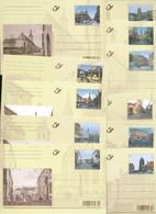 BELGIUM BELGIQUE PPS CARTES POSTALES COB BK185/95 UNUSED - Postales [1951-..]