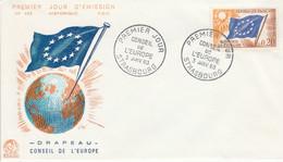 FDC 1963 CONSEIL DE L'EUROPE - 1960-1969